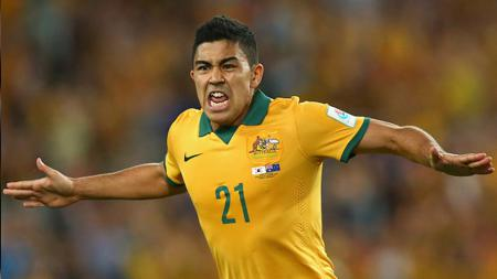 Massimo Luongo, gelandang Timnas Australia keturunan Indonesia. - INDOSPORT