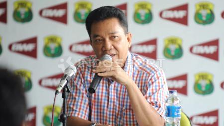 Chef de mission (CdM) tim bulutangkis Indonesia di Piala Sudirman 2017, Achmad Budiharto. - INDOSPORT