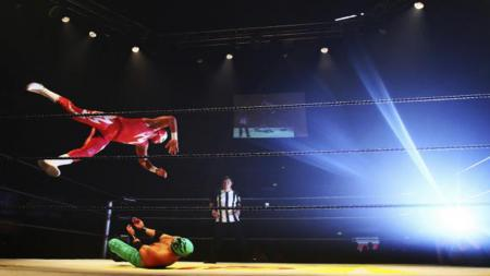 Acara gulat World Wrestling Entertainment. - INDOSPORT