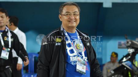 Manajer Arema FC. - INDOSPORT