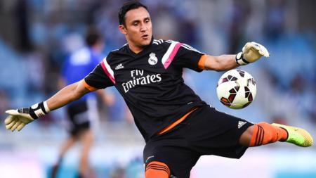 Kiper Real Madrid, Keylor Navas. - INDOSPORT