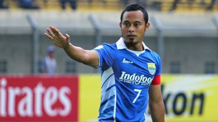 Atep, mantan pemain Persib Bandung. - INDOSPORT