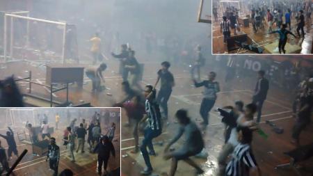 Kerusuhan Fans Real Madrid vs Juventus - INDOSPORT
