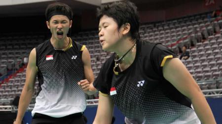 Sebuah fenomena langka pernah diukir oleh pasangan ganda campuran Indonesia, yakni Fran Kurniawan/Shendy Puspa Irawati di turnamen Badminton Asia Championships. - INDOSPORT