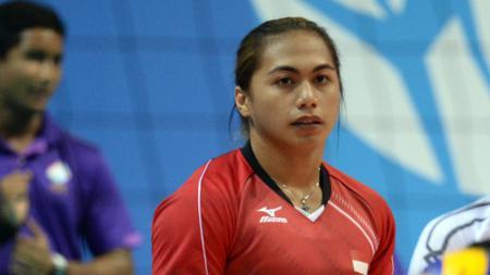 Aprilia Manganang, pemegang gelar Most Valuable Player (MVP) Proliga 2016. - INDOSPORT