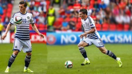 Tottenham Hostpur berharap jika bintang Southampton, Pierre-Emile Hojbjerg bakal segera merapat bersama skuat asuhan Jose Mourinho. - INDOSPORT