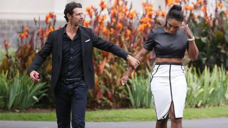 Patrick Mouratoglou dan Serena Williams - INDOSPORT