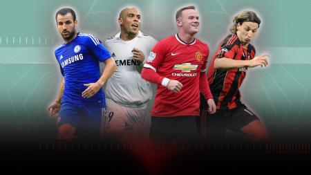 Sejumlah bintang sepak bola yang sempat dicap pengkhianat. - INDOSPORT