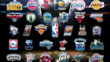 Logo-logo tim NBA.