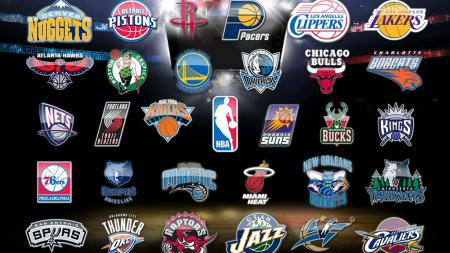 Logo tim-tim NBA. - INDOSPORT