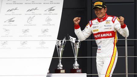 Mantan pembalap Formula 1 Rio Haryanto. - INDOSPORT