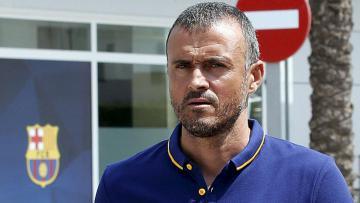 Pelatih Barcelona, Luis Enrique.