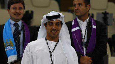 Sheikh Mansour, pemilik Manchester City. - INDOSPORT