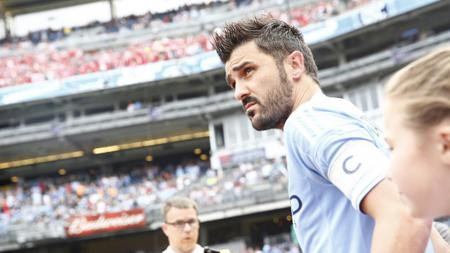 Mantan pemain Barcelona, David Villa. - INDOSPORT