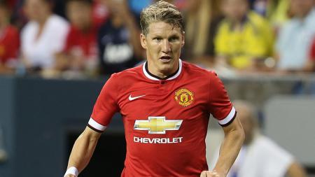 Gelandang bertahan Manchester United, Bastian  Schweinsteiger. - INDOSPORT