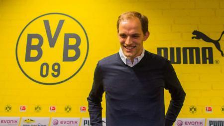 Thomas Tuchel, mantan pelatih Borussia Dortmund. - INDOSPORT