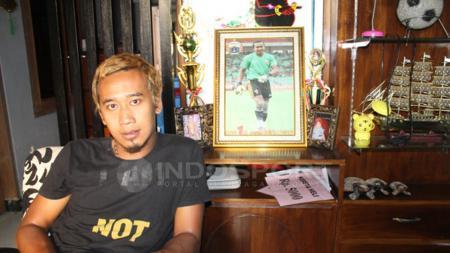 Mantan kiper Persija Jakarta, Galih Sudaryono gabung klub Liga 2, Persijap Jepara. - INDOSPORT
