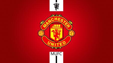 Logo Man United. - INDOSPORT