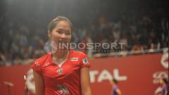 Indosport - Ratchanok Intanon, pebulutangkis putri asal Thailand.