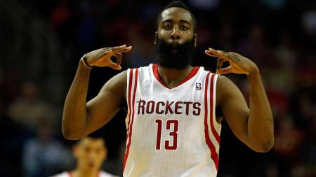 James Harden menjadi top skorer pada game Houston Rockets-Portland Trail Blazers. - INDOSPORT