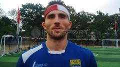 Indosport - Ilija Spasojevic saat masih berseragam Persib Bandung.