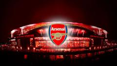 Indosport - Logo Arsenal.