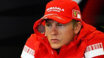 Pembalap Ferrari, Kimi Raikkonen