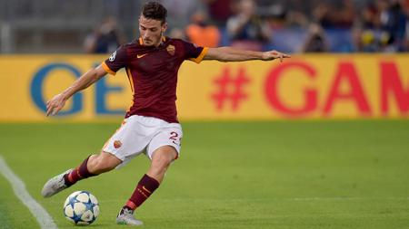 Gelandang AS Roma, Alessandro Florenzi. - INDOSPORT