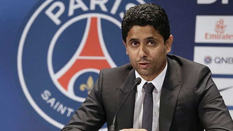 Pemilik Paris Saint-Germain, Nasser Al-Khelaifi. Copyright: © Internet