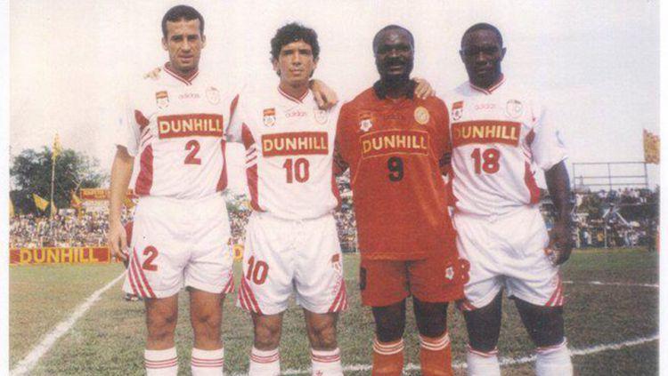 7 Pemain Asing Terbaik Liga Indonesia Era 90an  INDOSPORT