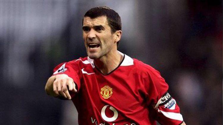 Roy Keane saat menjalani pertandingan beberapa musim silam. Copyright: © INTERNET