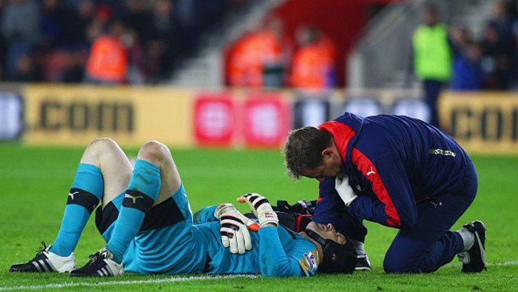 Mikel Arteta dan Pep Guardiola (Manchester City) Copyright: © Internet