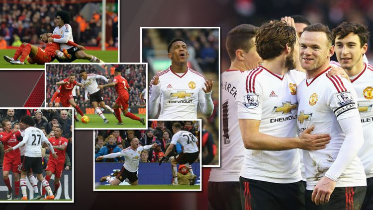 Liverpool vs Manchester United Copyright: © GRAFIS: Muproni/INDOSPORT-INTERNET