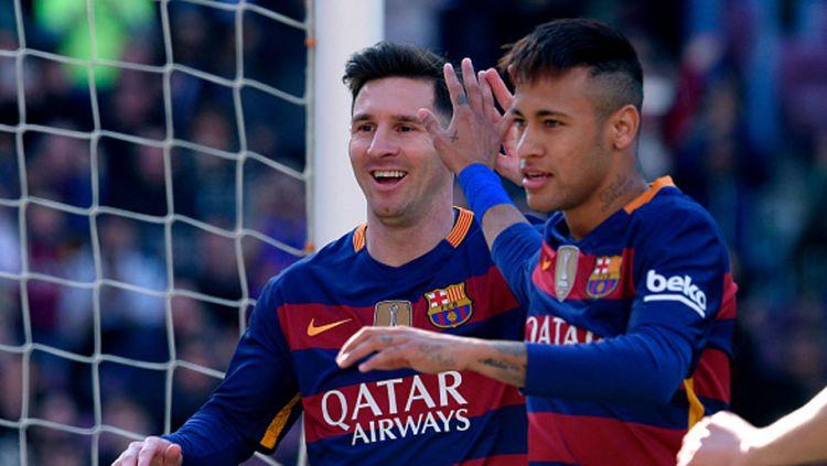 Rekap rumor transfer: Lionel Messi ajak Neymar balik ke Barcelona Copyright: © INTERNER