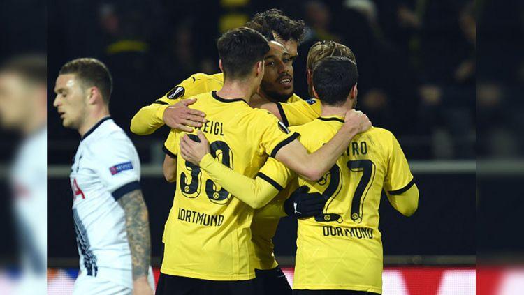 Tottenham vs Dortmund Copyright: © INTERNET