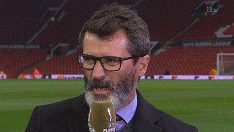 Roy Keane, legenda Man United mengkritisi tindakan dari dua penggawa Timnas Inggris di Euro 2020, Mason Mount dan Ben Chilwell. Copyright: ©