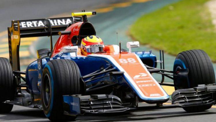 Rio Haryanto driver Manor Racing. Copyright: © INTERNET