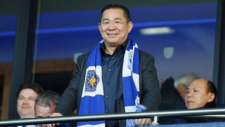 Vichai Srivaddhanaprabha, pemilik Leicester City. Copyright: © Internet
