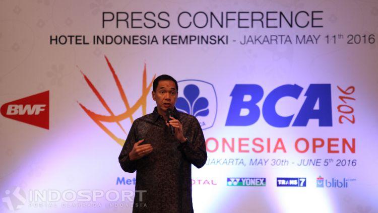Kesuksesan wakil Indonesia meraih dua medali emas, satu perak dan perunggu di kategori perorangan SEA Games 2019 mendapat pujian dari Gita Wirjawan. Copyright: © Herry Ibrahim/INDOSPORT