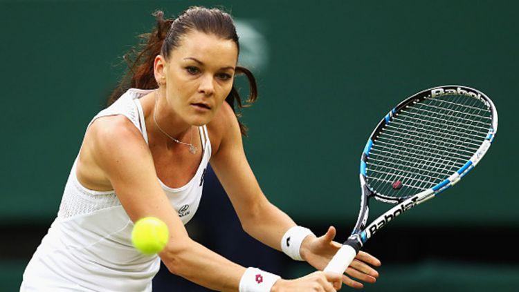 Agnieszka Radwanska tembus semifinal Sydney International. Copyright: internet