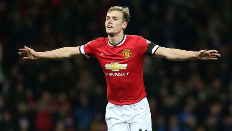 Pemain muda Manchester United, James Wilson. Copyright: © Internet