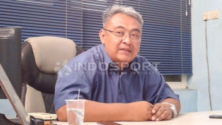 Ruddy Widodo, general manajer Arema FC menyebut pambagian dana hak komersil belum mencapai level ideal. Copyright: © Ian Setiawan/INDOSPORT