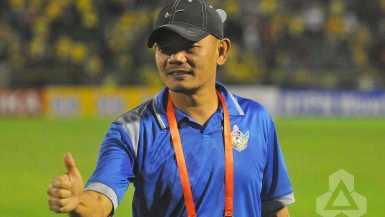 Pelatih Persib B, Liestiadi. Copyright: © INTERNET