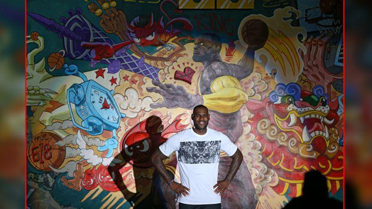LeBron James, pebasket andalan Cleveland Cavaliers. Copyright: © Internet