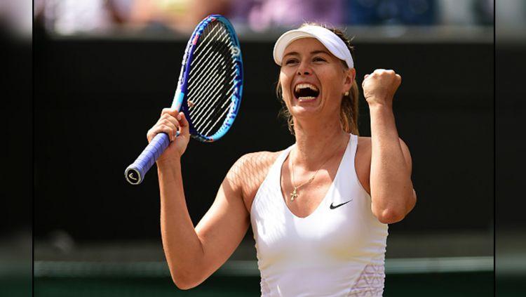 Maria Sharapova akan kembali bermain tenis di ajang Stuttgart Open 2017. Copyright: INTERNET