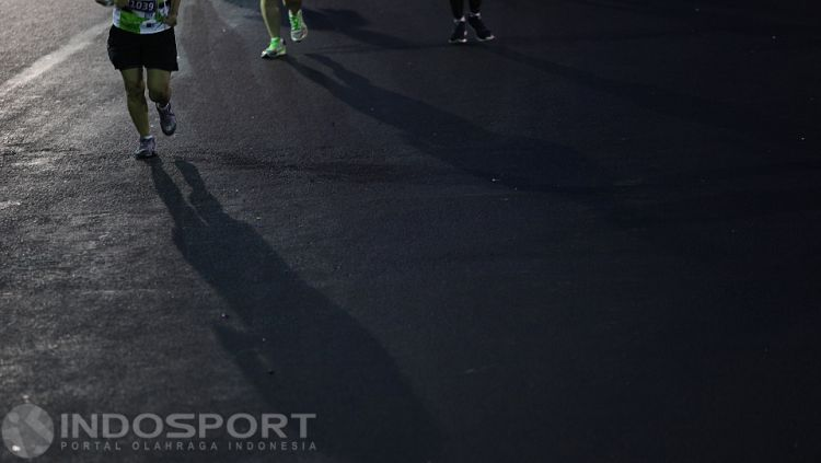 Ilustrasi Maraton. Copyright: © Herry Ibrahim/INDOSPORT