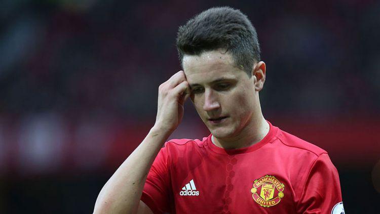 Gelandang Manchester United, Ander Herrera. Copyright: © INTERNET