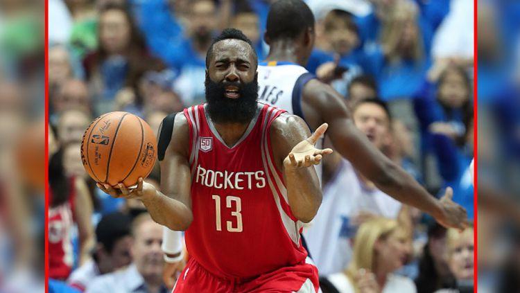James Harden, point guard milik Houston Rockets. Copyright: Internet