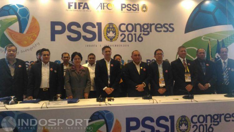 Kongres PSSI 2016. Copyright: © Herry Ibrahim/INDOSPORT