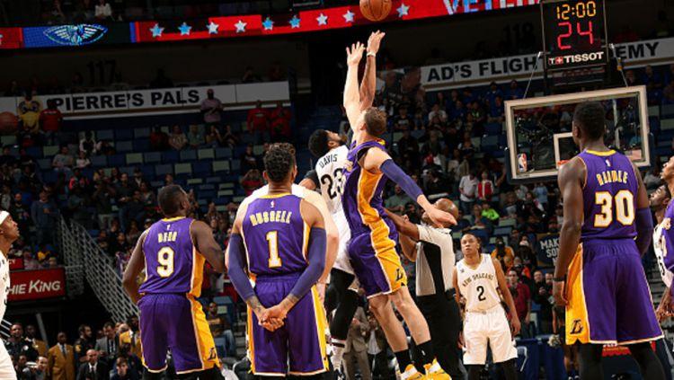Logo LA Lakers. Copyright: © INTERNET